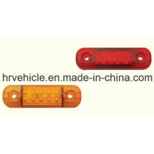 Lâmpada de desembaciamento lateral LED para caminhão e reboque