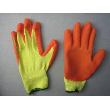10g Polyester Liner Latex beschichtete Chemikalienhandschuh - 5242. oder