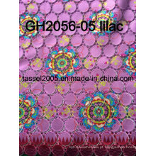 Hot Sell impresso Guipure Lace para vestuário