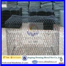 hot dip galvanized gabion basket specification