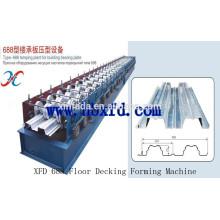 Steel Floor Decking Tile Making Machine Made In China