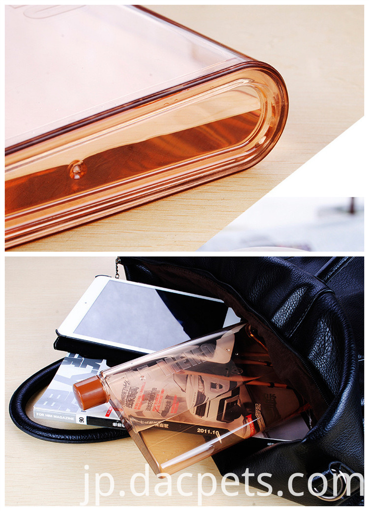 430ml Fashion A5 Memo Notebook Plastic Pc Water Bottle Dc A5memo 6