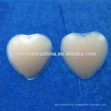2016 life casting lovely heart shaped nude silicone nipple cover