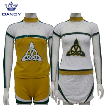 Jugend Custom Design Cheerleading Uniformen
