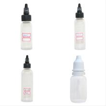Accesorios de la venta caliente Botella de tinta del tatuaje vacía para Studio Supply