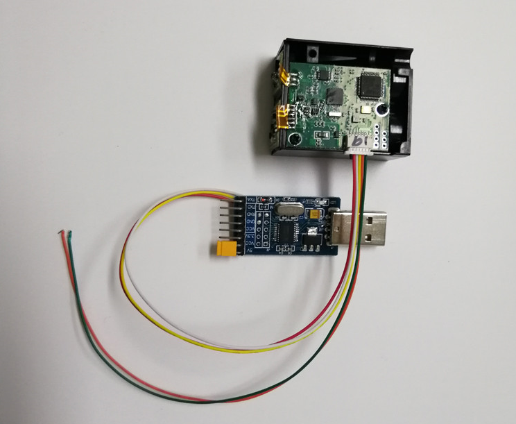 USB 10000Hz Frequency LiDAR Module