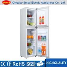 Refrigerador da porta dobro do agregado familiar 118L, refrigerador home, refrigerador do combi