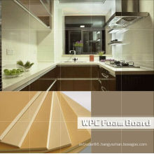 High Quality PVC WPC Kitchen Cabinet Furniture Board Panels