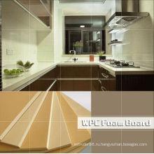 Высокое качество ПВХ ДПК кухонного шкафа, доски мебели, панелей