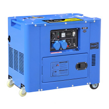 Nouveau groupe électrogène diesel silencieux (6,5 kW)