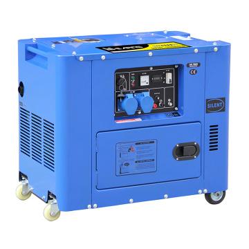 New Model Silent Power Diesel Generator Set (6.5KW)
