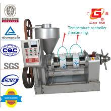 Máquina automática de la prensa del aceite del calentamiento con la caja eléctrica Yzyx10wk