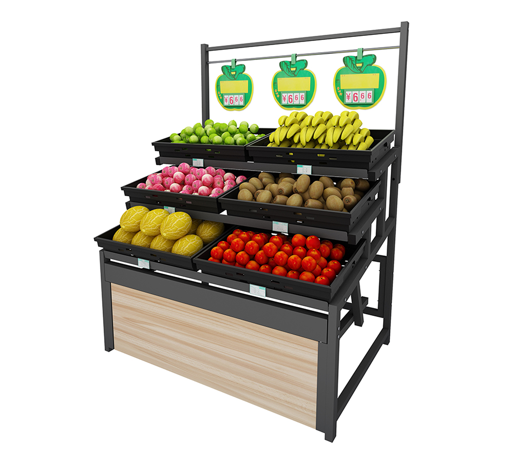 Single-Sided Fruit Shelving