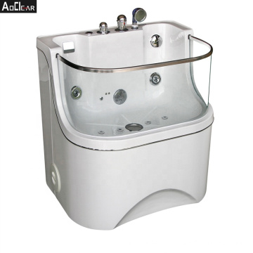 Aokeliya new breed high quality professional  pet bubble spa grooming bath tub for dog