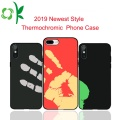 2019 Le plus récent TPU + LeatherThermochromic Phone Case