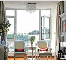 Feelingtop Revestimiento de polvo de ventana abatible de aluminio popular (FT-W135)