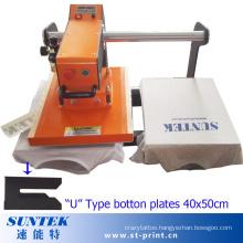 Top Sliding Pneumatic Heat Transfer Machine with U Type