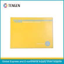 Qualität kundengebundener Pappumschlag mit einfachem geöffnetem Streifen
