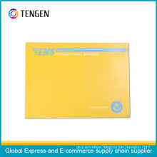 High Quality Customized Cardboard Envelope with Easy Open Strip