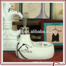 Nueva botella de cerámica de la loción de la porcelana de la forma del pato 2015 del diseño