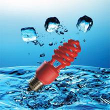 15Вт красный цвет лампы энергосберегающие с CE (НБ-Р)