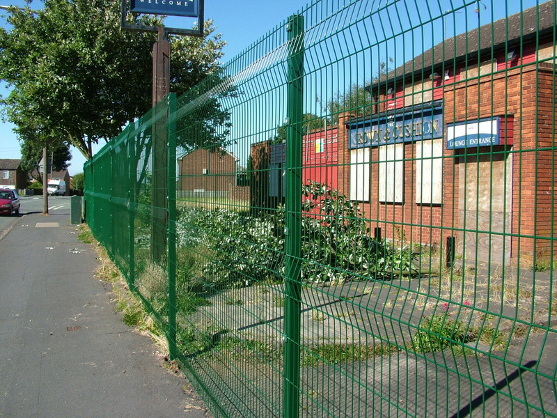 wire mesh security fencing panels