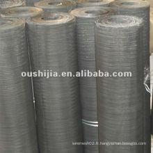 Maillage métallique noir recuit (directement de l'usine)