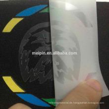 Transparentes reflektierendes Aufkleber-Blatt-Drucken