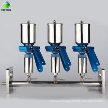 Multiple vacuum filtration system apparatus, vacuum filtration setup