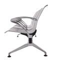 Silla de espera de silla de hospital de silla de acero inoxidable (DX622)