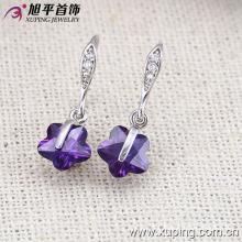 27917 Xuping Fashion CZ Rhodium Creative Jewelry Eardrop for Girls