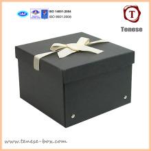 Caja para organizador de embalaje de cartón de papel resistente