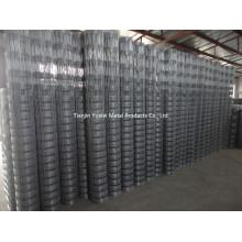 Лучшая цена оцинкованная стальная проволочная сетка / оцинкованная проволочная сетка / арматурная оцинкованная сталь Сварная сетка