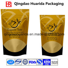 Matte Finished Plastic Coffee Packing Bag with Valve