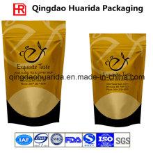 Матовый готовой пластиковой упаковки кофе мешок с клапаном