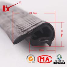 Perfil feito sob encomenda da tira de borracha do PVC do plástico da fábrica para a porta