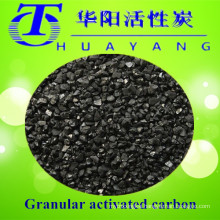 Power plant water pretreatment by 900 iodine value activated carbon water filter