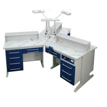 Estação de trabalho dental Ax-Yt1 para pessoa tripla