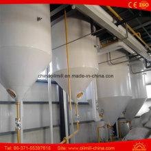 50t / D Equipamento de refinaria de óleo vegetal Refinaria de óleo de palma