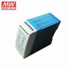 A fonte de alimentação do trilho do ruído do MW 40watt significa 24VDC bem original / genuíno
