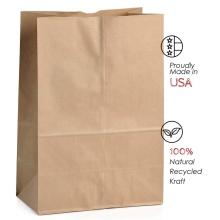 Высококачественные дешевые красочные крафт-бумажные пакеты с индивидуальной печатью с ручками из крафт-бумаги