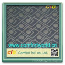 Têxtil bonito da tela da ligação do jacquard da canela do projeto novo da forma nova