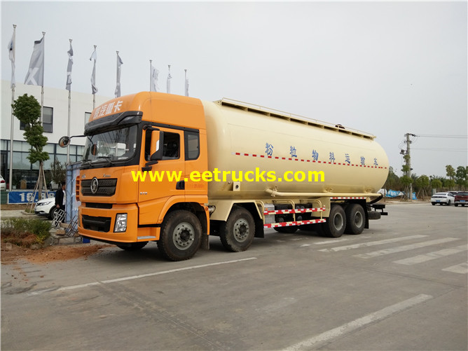 12 Wheel Pneumatic Dry Tanker Trucks