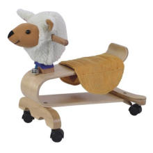 Baby Wooden Toy Riding Bicycle