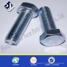Fournisseur chinois Jinrui Stainless Steel Hexagon Bolt