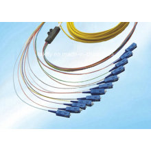 Hot Selling High Precision Low Price Multimode Duplex OEM Om3 Sc Fiber Optic Pigtail