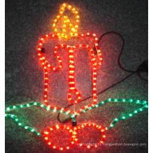 Vela para decoração noite Motif Light