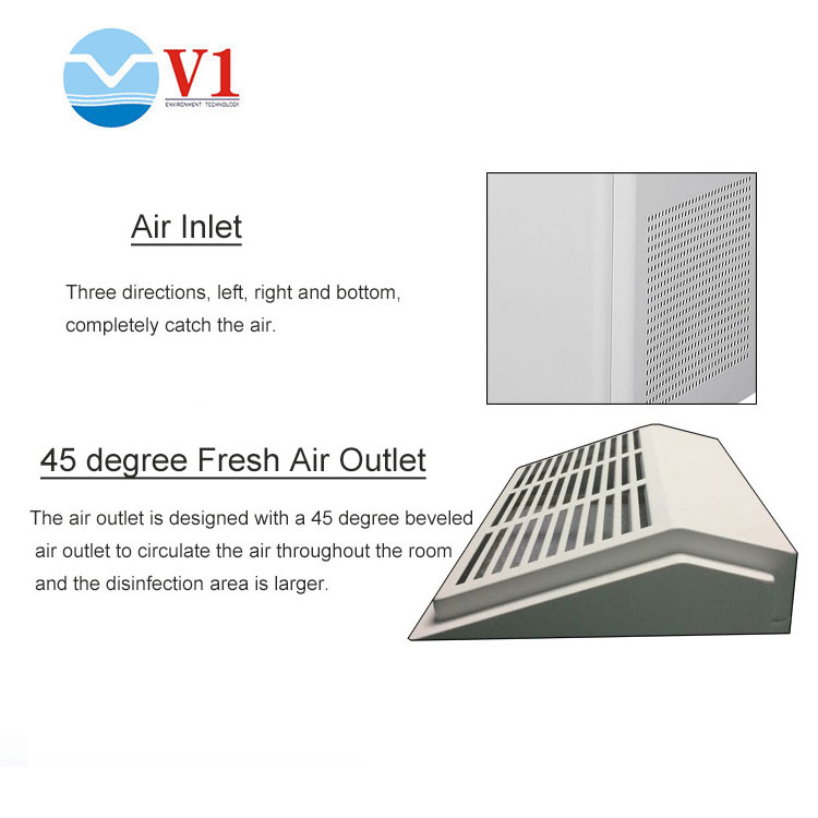 Cabinet Type Air Sterilizer Purifier Cleaner
