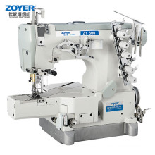 ZY600-01CB Zoyer Pegasus Cylinder Flat Bed Interlock industrial Sewing Machine