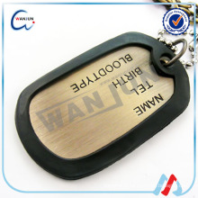 2016 hottest army soldier alloy dog tag with your Customized design